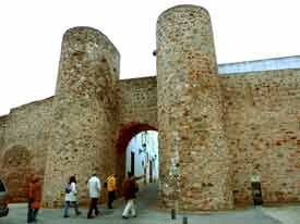 Badajoz Olivenza murallas