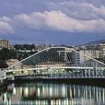 Bilbao puente sobre la ría