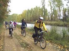 Canal de Castilla en bicicleta