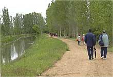 Canal de Castilla senderismo