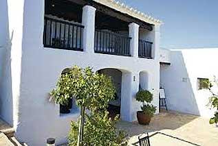 Isla de Ibiza. Arquitectura tradicional Ibicenca
