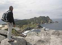 Vista Islas Cíes Galicia