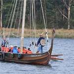 Barco vikingo en Galicia