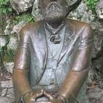Escultura de Gaudi. Comillas