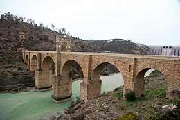 Puente la Raya de extremadura