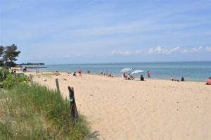Playa. La Rochelle, en Francia