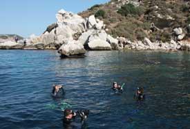 islas medes submarinismo