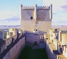Vinos Ribera del Duero. Castillo de Peñafiel
