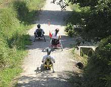 vias verdes discapacitados