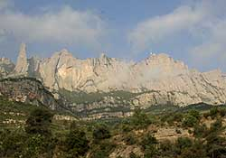 Montañas de Montserral