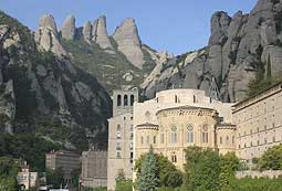 vista del conjunto de Montserrat