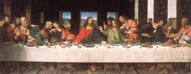 Leonardo Da Vinci. La última cena