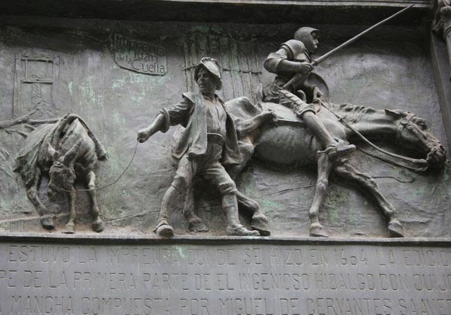 Miguel de Cervantes Madrid