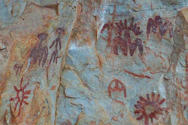 Pinturas rupestres de Fuencaliente