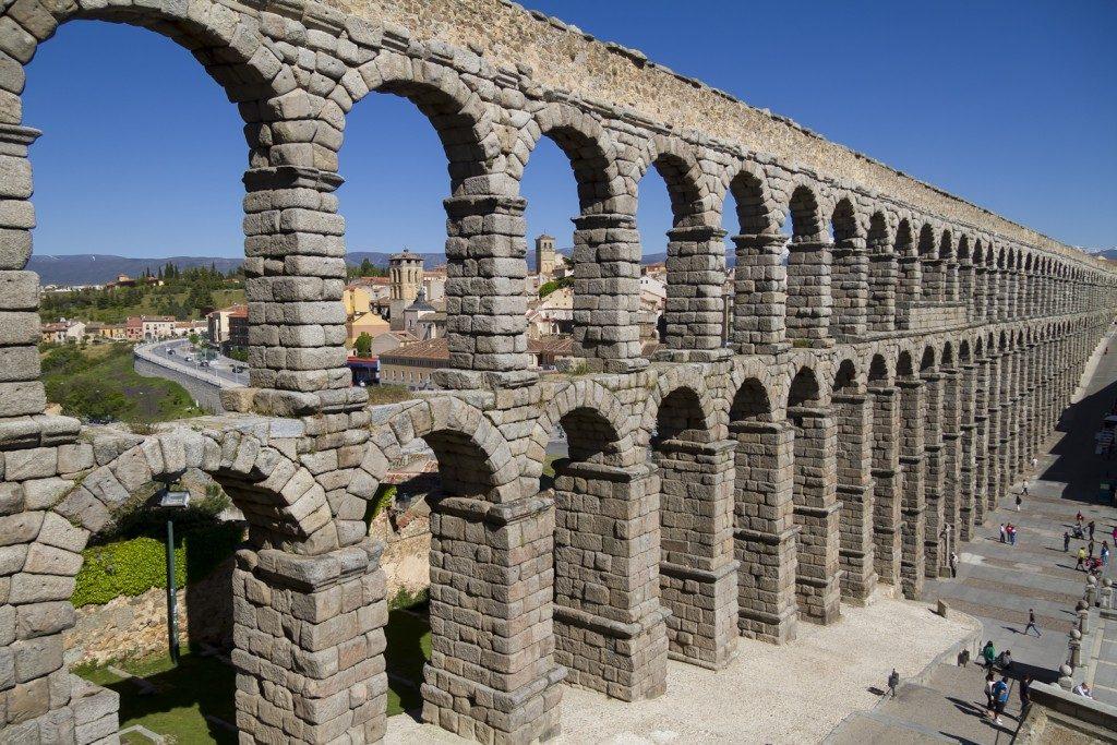 Ruta, Segovia, Avila y Valladolid. Acueducto de Segovia