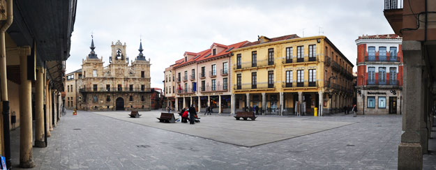 Plaza Mayor. Astorga, capital de la Maragatería