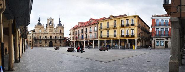 Plaza Mayor. Astorga, capital de la Maragatería