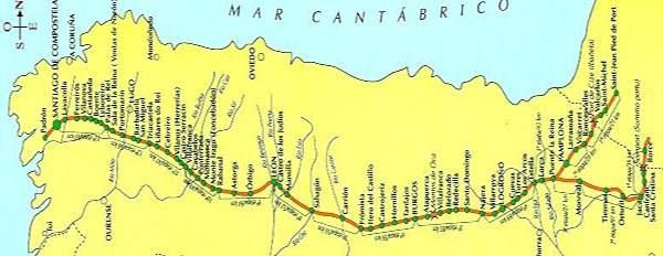 Camino de Santiago en bicicleta © Club Cicloturista Gran Canaria.