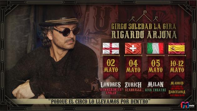 Ricardo Arjona. Gira Circo Soledad