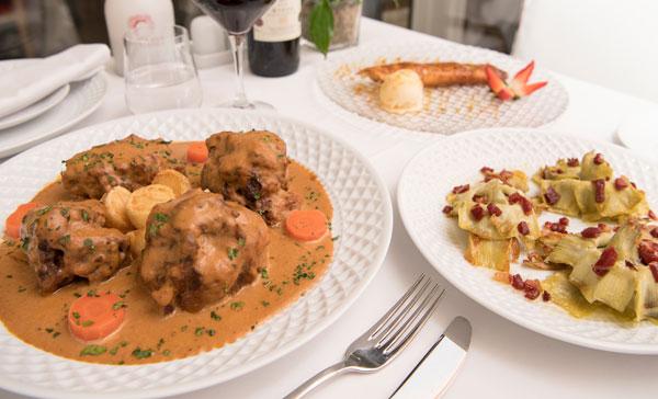 Rabo de Toro. Restaurante La Clave