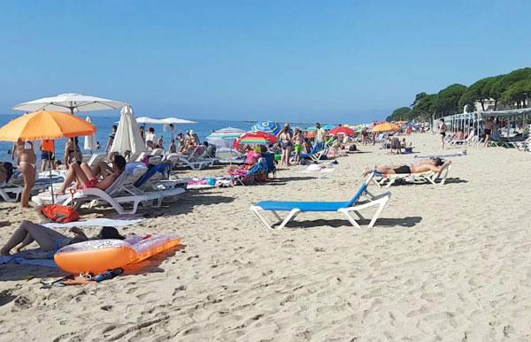 Cambrils, playas