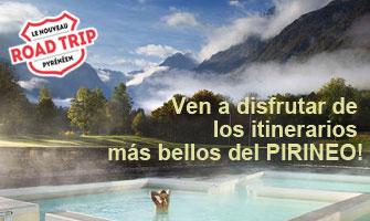 Ven a disfrutar de los Itinerarios más bellos del pirineo