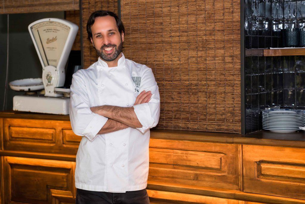 Restaurante Behia. Chef Juan Carlos Delle Vedove