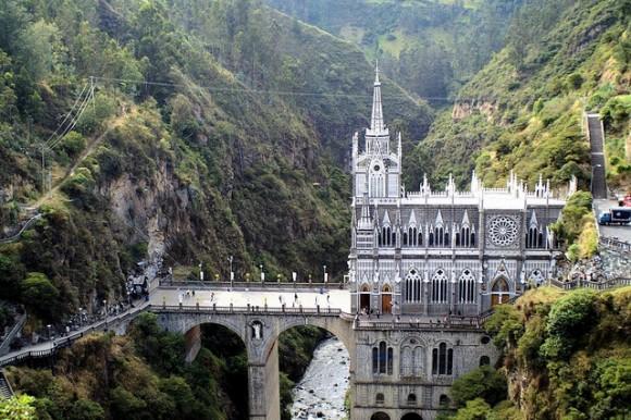 Santuario de las Lajas, en Ipiales