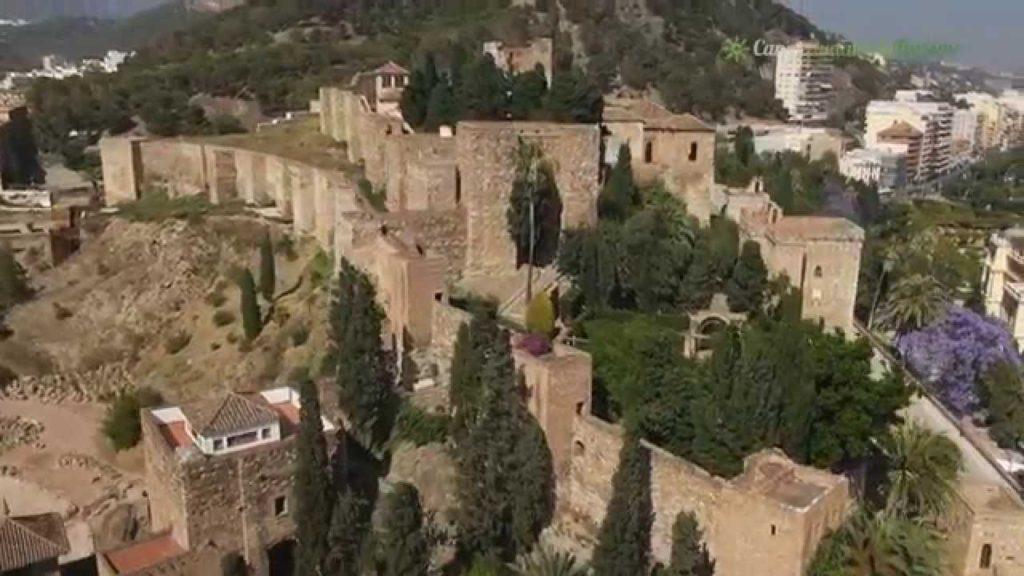 Alcazaba de la ciudad de Málaga