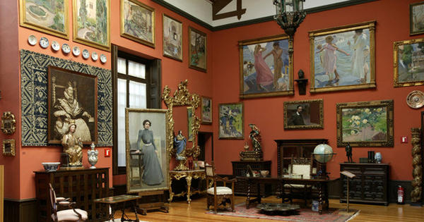 Los otros 5 grandes museos de madrid revista de viajes y turismo - Casa de sorolla en madrid ...
