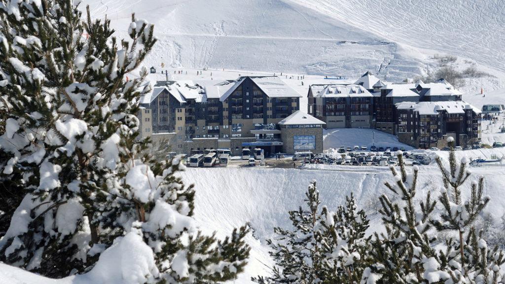 Estación de esquí de Peyragudes. Pirineos Franceses