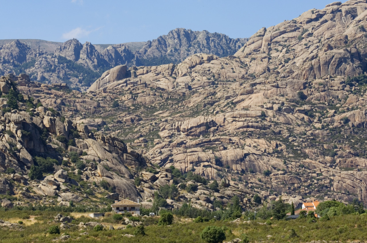 Vista de La Pedriza de Manzanares el Real