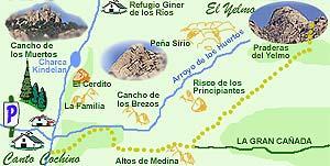 Ascensión al Yelmo. Rutas de senderismo por La Pedriza
