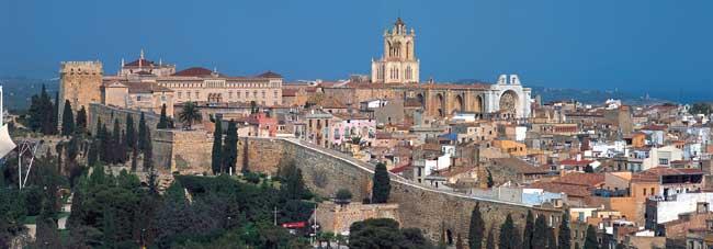 Tarragona. Vista de la ciudad