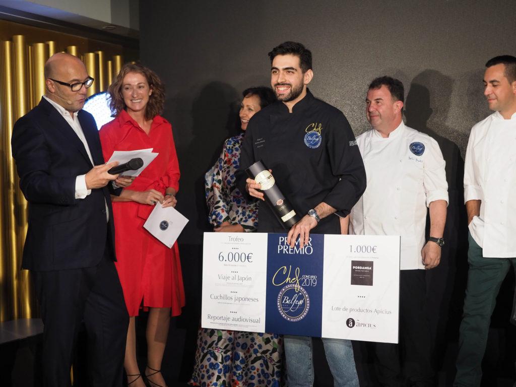 Alejandro Serrano, premio Chef Balfegó 2019