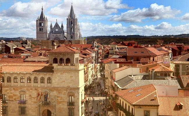 Desde la ciudad de León, por la vega del Esla y sus alrededores