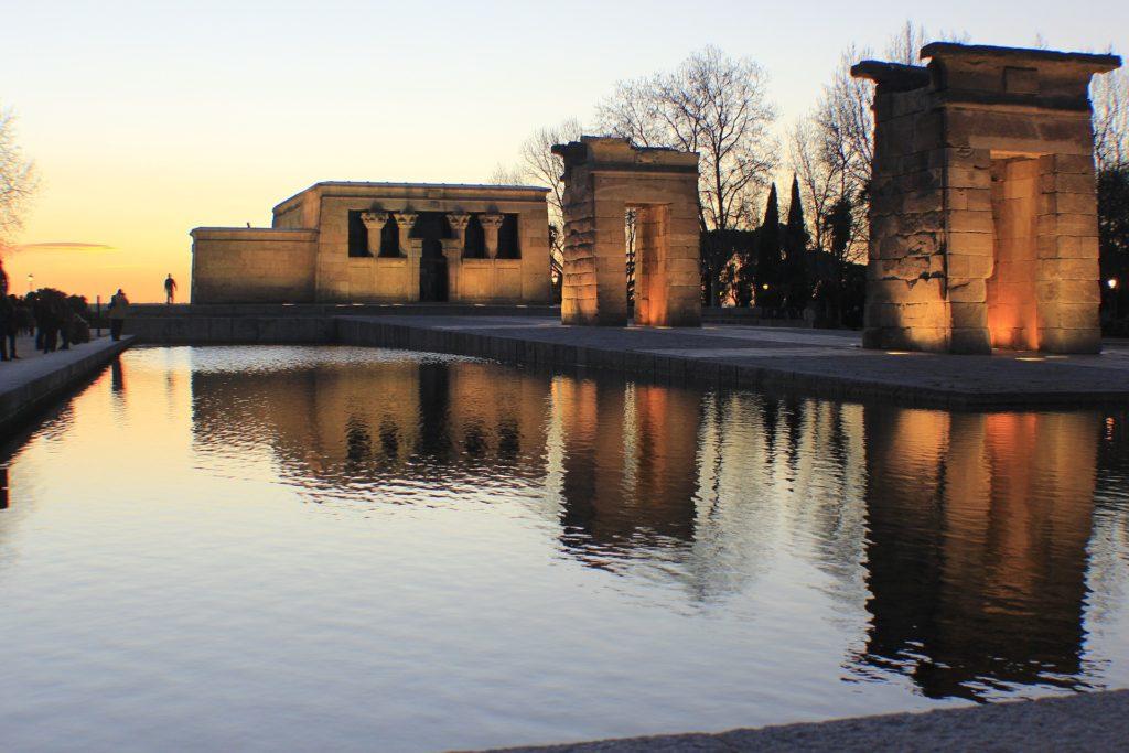Visitando Madrid. Templo de Debod
