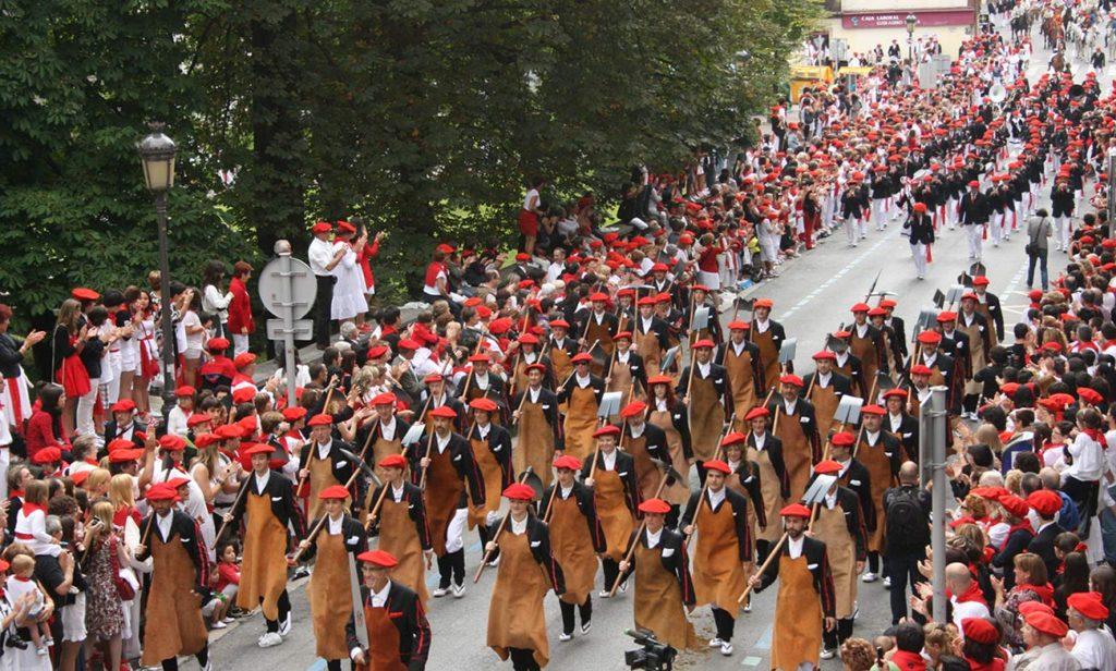 Alarde de Irún. Fiestas de San Marcial