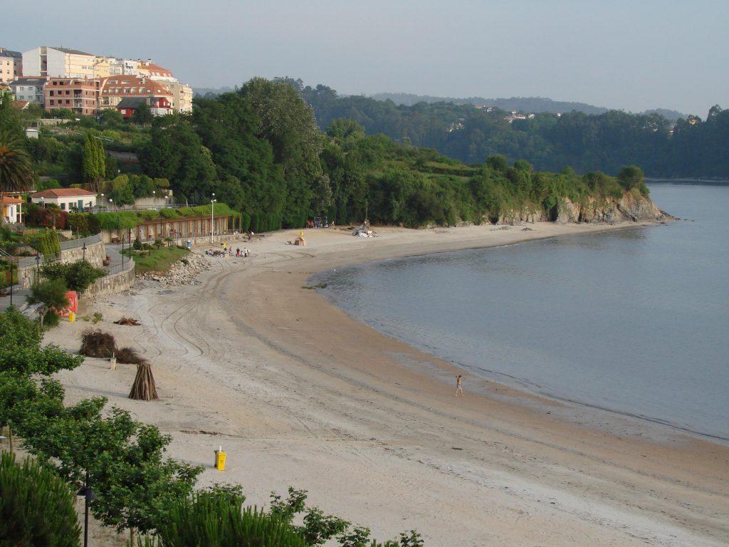 Miño, playas de A Coruña