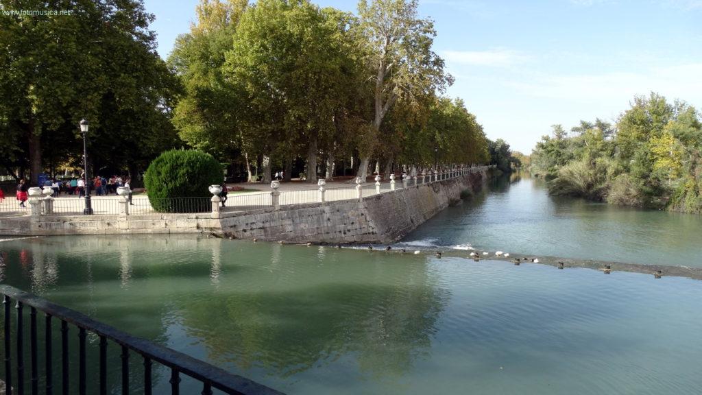 Río Tajo a su paso por Aranjuez