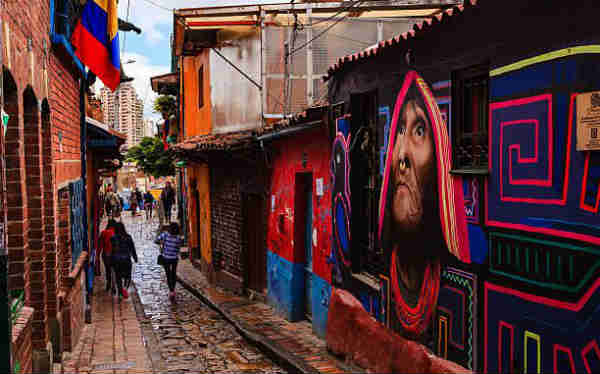 Bogotá. Barrio de la Candelaria