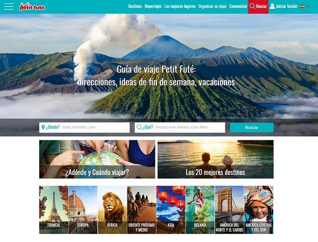 El sitio web de Petit Futé ahora también en español