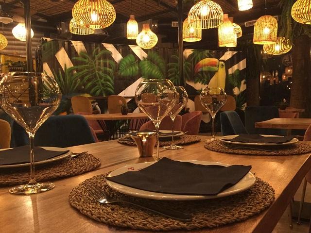 Restaurante en el Mercado de la Victoria