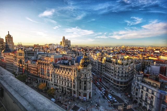 Madrid. Trabajos verticales