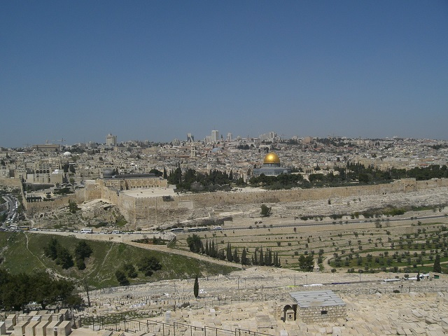 Vista panorámica de Jerusalén