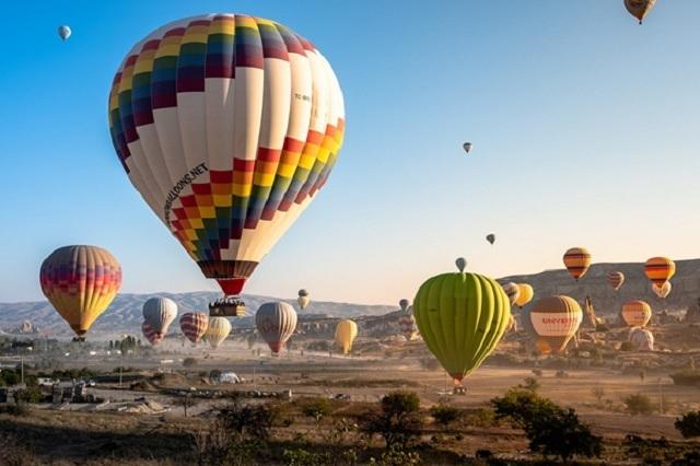 Viajes en globo en Turquía